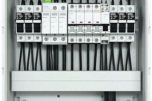 Die Generatoranschlussbox einer PV-Anlage<br />