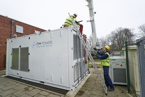... die RWE Deutschland derzeit in Ibbenbüren installiert, angeliefert.