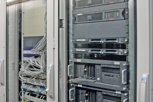 """Schaltschrank des GMA-Systems """"Topsis""""<br />"""