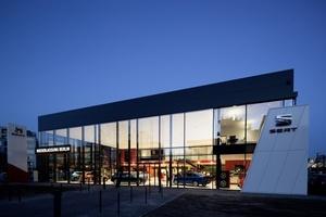 Neubau des SEAT-Autohauses (Leistungen pbr: Gesamtplanung)  (Foto: Simon Vollmeyer)