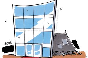 Potemkinsche Baustellen in Deutschland zeugen von einer mangelhaften Baukultur.
