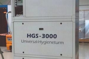 "Der ""Hygieneturm LH-HGS 3000"""