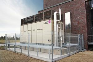 """Das System """"QuattroGeneration"""" bietet als Brennstoffzelle ..."""