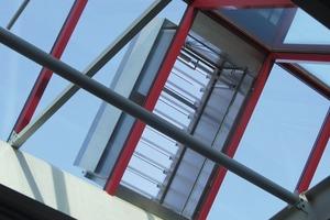 Allwetter-Lamellenlüfter für die Abluft und Wetterschutzgitter zur Außenluftansaugung