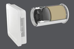 """Der """"Aerotube WRG smart"""" sorgt mit seiner integrierten Wärmerückgewinnung von bis zu 90 % für Energieeffizienz, Behaglichkeit und die Senkung der Heizkosten."""