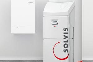 """Die Komplettheizung von Solvis und Elcore besteht aus dem Brennstoffzellen‐BHKW """"Elcore 2400"""" und dem Energiemanager """"SolvisMax""""<br />"""