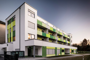 Im Mai 2016 wurde ein neues 14-Parteien-Wohnhaus der Genossenschaft Witten-Mitte eG bezugsfertig – integriert ist eine Kindertagesstätte.