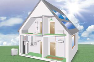 """Die Regelung """"Smart-Control"""" gewährleistet, dass der selbst erzeugte Photovoltaikstrom stets möglichst wirtschaftlich genutzt wird"""