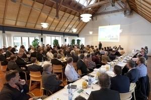 """Über 200 Heizungs-Fachleute und Planungsingenieure nahmen an den Weishaupt-Fachtagungen """"Wärmepumpen und Effizienztechnik"""" teil"""