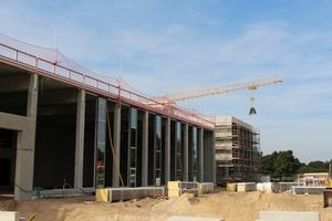 Im September 2016 war Richtfest beim Neubau der Firmenzentrale von Condair in Norderstedt.