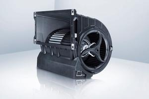 """Die neuen Gebläse: Durch """"Aktiv PFC"""" werden störende Oberwellen gefiltert und es erlaubt so die problemlose Parallelschaltung von Ventilatoren."""