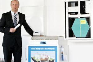 Der geschäftsführende Gesellschafter von Zewotherm, Andreas Ziegler, ist mit dem Geschäftsverlauf von 2102 zufrieden