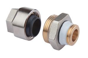 Die Klemmverschraubungs-Technologie gewährt dem Anwender Sicherheit und Montagekomfort.