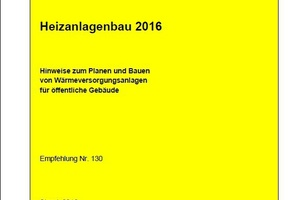 AMEV-Empfehlung Heizanlagenbau 2016