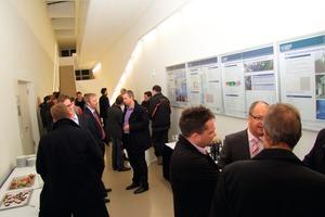 Das neu errichtete Zentrum für Energietechnik (ZET) der TU Dresden präsentierte Versuchsstände und Ausbildungsmöglichkeiten<br />