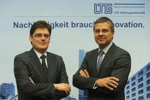 Ralf Wagner (links) und Wolf Hartmann leiten die LTG AG gemeinsam
