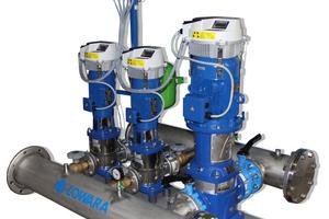 Drehzahlgeregelte Druckerhöhungsanlagen sparen Energie und schonen Rohre und Armaturen<br />