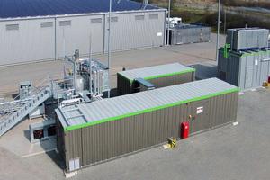 In Allendorf wird mittels biologischem Verfahren aus regenerativem Strom Methan erzeugt und ins öffentliche Erdgasnetz eingespeist