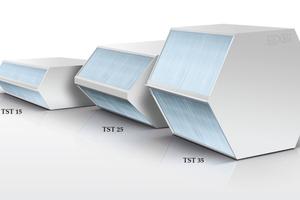 Kunststoff-Wärmetauscher TST 15, 25 und 35 von Holmak