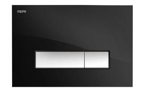 """""""MEPAorbit"""" aus Glas bietet eine freie Kombinierbarkeit von Taste und Platte"""