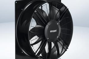"""Das modulare Konzept des """"AxiBlade"""" ermöglicht dem Anwender maximale Flexibilität, um den Ventilator im typischen Arbeitsbereich möglichst nah am Optimum zu betreiben."""