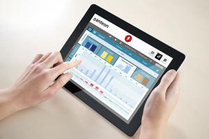 """""""Qanteon"""" von Kieback&Peter ist eine Software, die Gebäude- und Energiemanagement in einem System vereint."""