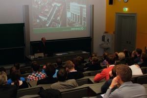 Dipl.-Ing. R. Niespor hielt einen Vortrag zur Kälteversorgung der Drewag im Stadtzentrum von Dresden<br />