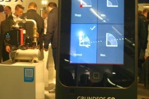 Mit der passenden App kann heute jedes System und auch jede Pumpe, wie hier bei Grundfos, gesteuert und überwacht werden.<br />