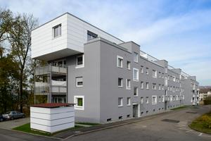 Das Mehrfamilienhaus in Wernau vor der Modernisierung<br />