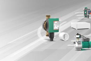 """Wilo präsentiert ein """"Smart Home""""-fähiges Pumpenportfolio."""