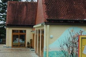 Kindergarten Pähl, seit 2005 am Nahwärmenetz angeschlossen<br />