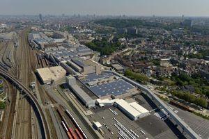 Die neue PV-Anlage auf den Dächern des Audiwerks in Brüssel soll bis zu 3000 MWh Strom im Jahr liefern