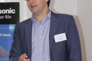 """Enrique Vilamitjana, Managing Director bei Panasonic Appliances Airconditioning Europe, sieht die Wärmepumpe als wichtigen Baustein, um Panasonic zu einem """"grünen Unternehmen"""" zu machen"""