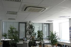 Dezentrale Büroklimatisierung mit VRV-Technologie