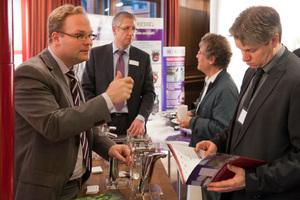 Fachausstellung beim TGA-Fachforum Wassermanagement