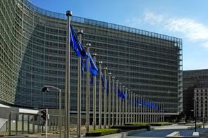 Das Berlaymont-Gebäude der EU-Kommission in Brüssel