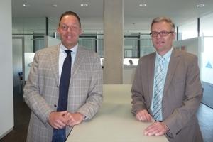 Die beiden Geschäftsführer Frank Valencic (links) und Werner Taubert
