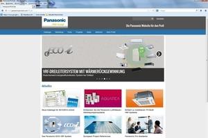 """Die Plattform <a href=""""http://www.panasonicproclub.com"""" target=""""_blank"""">www.panasonicproclub.com</a> bietet Händlern und Installateuren, Ingenieuren und Planern einen direkten Kommunikationskanal"""