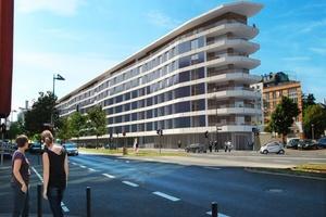 Im Juli 2015 wurde das Plusenergiegebäude in Frankfurt am Main eröffnet, das ... (Bild: ABG Frankfurt Holding, HHS Planer + Architekten AG)