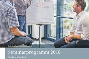 Siemens stellt das Seminarprogramm 2016 der Building Technologies Academy vor.