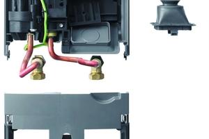 Da die AEG-Montagetechnik sorgsam auf viele Geräte anderer Fabrikate abgestimmt ist, gelingt der Geräteaustausch in nur drei Montage-Schritten