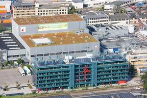 Das Gebäude erhielt eine Zertifizierung in LEED-Platin