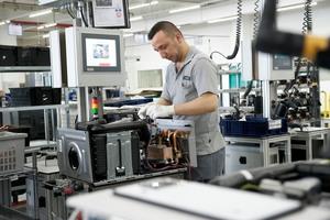 Produktion von Brennwert-Heiztechnik in Remscheid