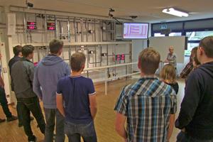 Bei Geberit in Langenfeld wurde der hydraulische Abgleich in Theorie und Praxis vermittelt<br />