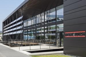 Der Energy Campus am Standort von Stiebel Eltron in Holzminden, von Hegger Hegger Schleif Architekten, aus Kassel, war Veranstaltungsort für die eintägige Fachveranstaltung des BVF e.V.   (Foto: Stiebel Eltron/Constantin Meyer, Köln)