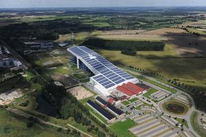 Das alpincenter Hamburg-Wittenburg nutzt eine 3,6 MW große PV-Anlage zur Eigenstromerzeugung<br />