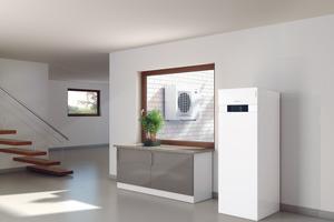 """Mit """"Vitocal""""-Wärmepumpen, im Bild die """"Vitocal 222-S"""", lässt sich ein Maximum des selbst erzeugten Solarstroms im eigenen Haus nutzen"""