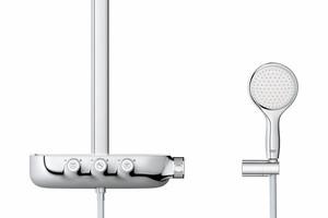 """Grohe bietet für sein """"Rainshower""""-Duschsystem eine Bedienung ..."""