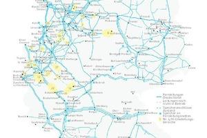 """<div class=""""grafikueberschrift"""">Anpassung des Gasnetzes </div>Um künftig eine zukunftsfähige Erdgasversorgung zu gewährleisten, wird das Netz nach einem festen Plan der Netzbetreiber in Zusammenarbeit mit der Bundesnetzagentur kontinuierlich mit H-Gas angepasst."""