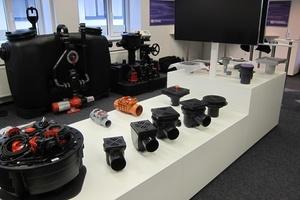 Eine große Ausstellung ermöglicht es den Besuchern, die Kessel-Produkte auch in der Praxis zu erleben.  (Foto: Kessel AG)